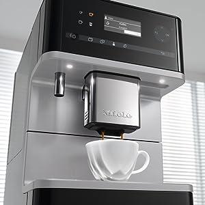 Miele Stand-Kaffeevollautomat, Kaffee, LED, BrilliantLight