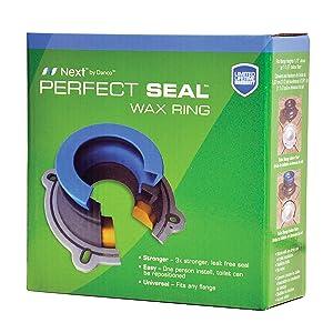 wax ring,waxless ring,toilet wax ring,toilet installation,perfect seal,danco wax ring,fluidmaster