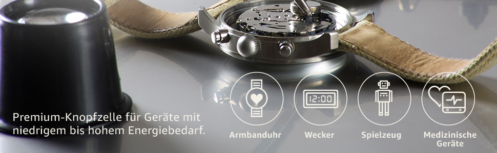 Knopfzelle Batterie Silberoxid-Knopfzelle Fotoapparate SR44L Panasonic