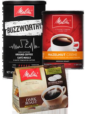 melitta, coffee, decaf, hazelnut, colombian, buzzworthy