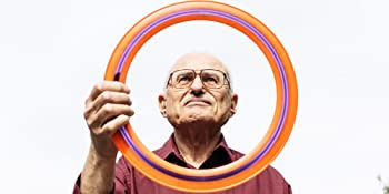 Alan Adler with the Aerobie Pro Ring