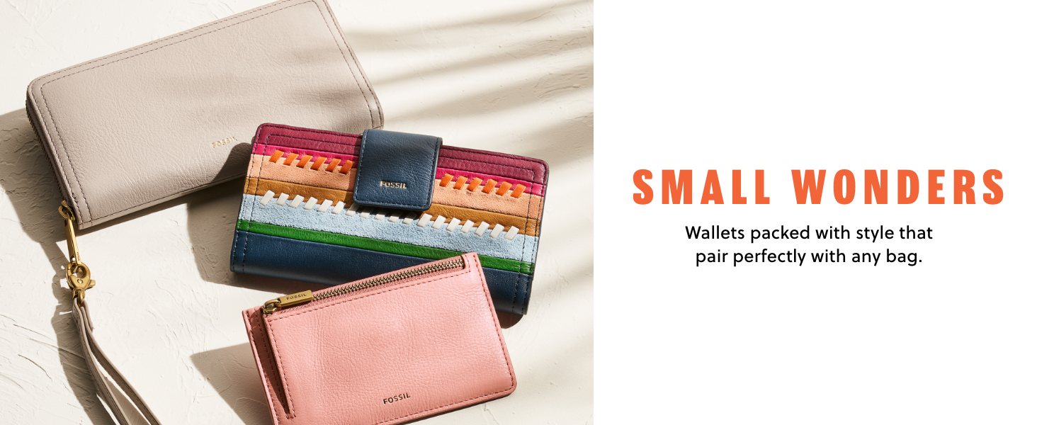 Fossil women's wallets spring 2021