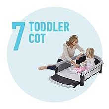 toddler cot
