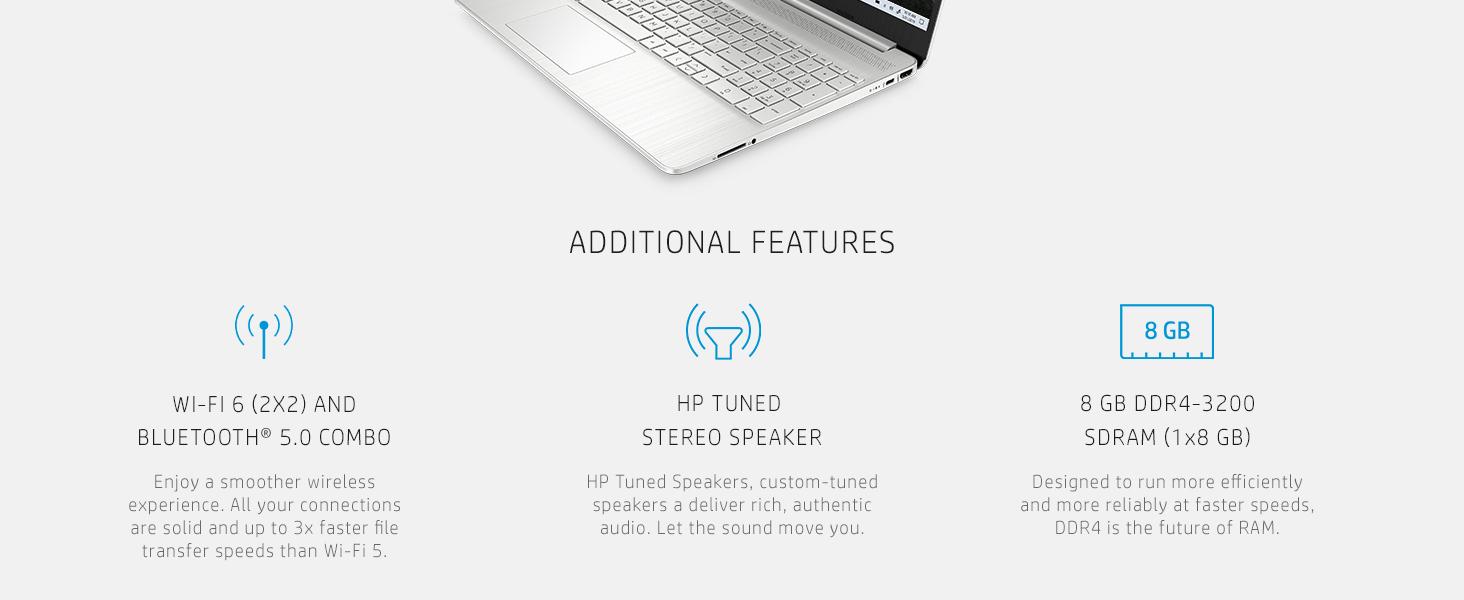 Rebak HP 15.6 inch Laptop 15-ef1021nr