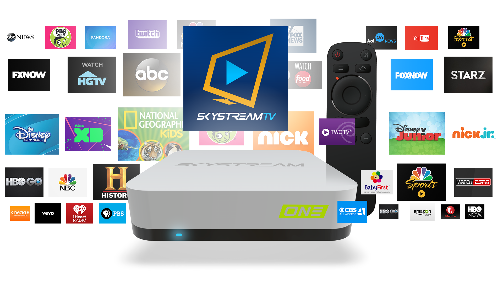 Stream Android To Tv >> Amazon Com Skystream One Streaming Media Player Android Tv Box