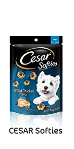 Cesar Softies Dog Treats, Treats for Dogs, Chewy Dog Treats, Soft Dog Treats