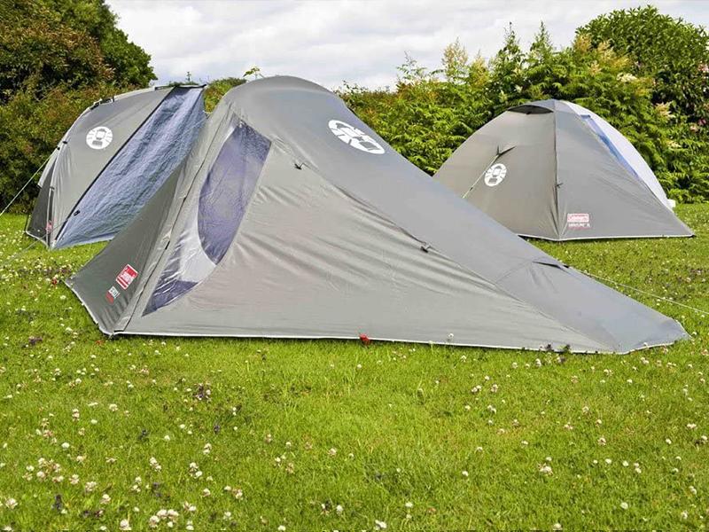 Coleman Bedrock 2 Tienda de campaña de 2 plazas para Trekking o Senderismo, acampadas y Festivales, compacta, Cabe en una Mochila, Impermeable hasta ...
