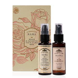 Face Care Gift Box; Face Care Box; Face Toner; Face Cleanser; Rose & Jasmine Face Cleanser