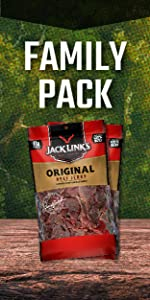 Family Pack beef jerky, beef jerky bulk