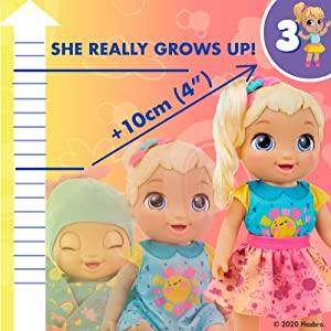baby alive baby grows up; surprise doll that grows; growing doll; talking dolls for girls