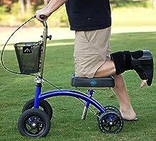 Amazon.com: Scooter de rodilla con mejora todo terreno del ...