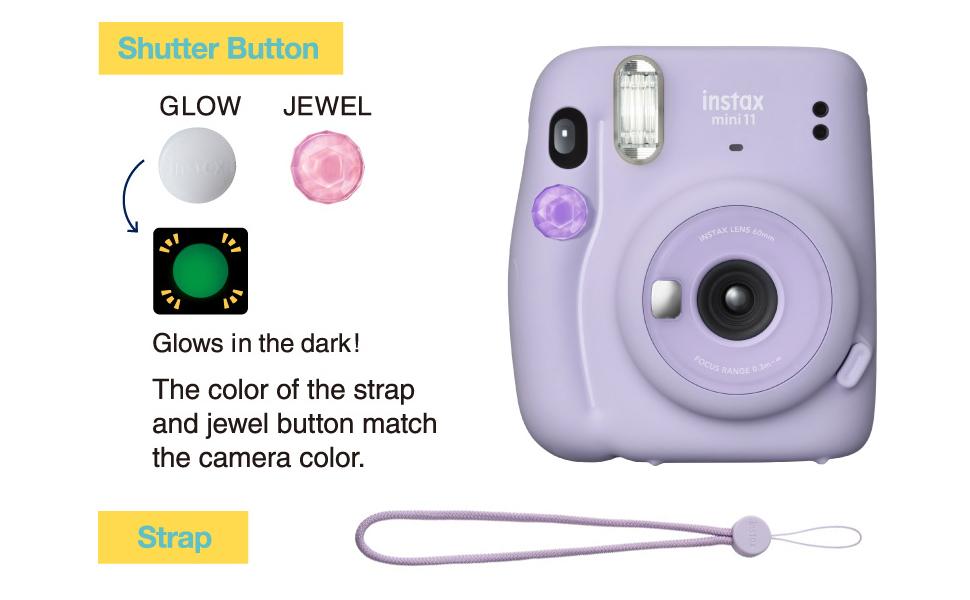 Accessories;Shutter Button;Glow;Jewel;Strap