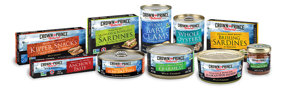 Crown Prince Natural Canned Seafood