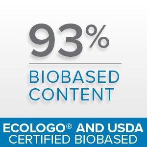 biobased, ecologo, USDA certified, sustainability, natural formula