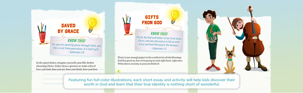 wonderful, the truth about who i am, identity in christ, for kids