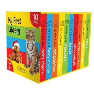 My First Library Pack 2: Box Set of 10 Board Books for Kids