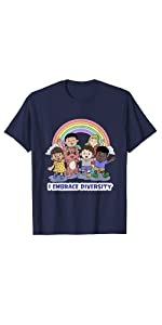 diversity my dragon books brag t shirt