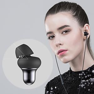 イヤホン 高音質 iPhone マイク earphone  重低音 ヘッドホン 通用 カナル型  有線 カナル型 リモコン・マイク ステレオ 定番 磁気 スマートフォン HI-FIサウンド