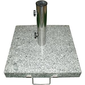 Stein Granit Granitständer Granitsockel Edelstahl Hülse Reduzierringe