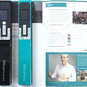 Iris Iriscan Book 5 Buchscanner Wifi Win Mac Kabellos Integrierte Wiederaufladbare Lithiumbatterie 300 600 1200 Dpi Elektronik