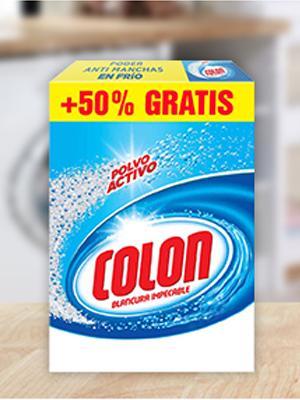 colon detergente lavadoras polvo activo ropa limpia manchas colada quitamanchas