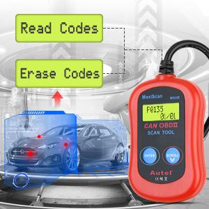 Autel MS300 Engine Analyzer Read Clear Codes