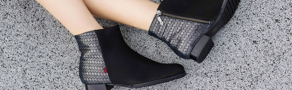 Prince St, Bootie, Women, Leather, Trend, Boot, Winter