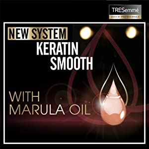 With Keratin and Marula Oil