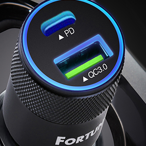 Car Charging Quick Charge 3.0 Technology