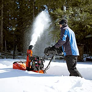 Husqvarna ST230P, 30 in  291cc Two-Stage Gas Snow Blower with Power  Steering and Heated Handles
