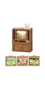シルバニアファミリー 家具 リビングテレビ カ-516