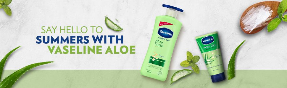 Vaseline Intensive Care Aloe Fresh Body Lotion 400 ml