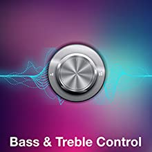 Bass & Treble Control