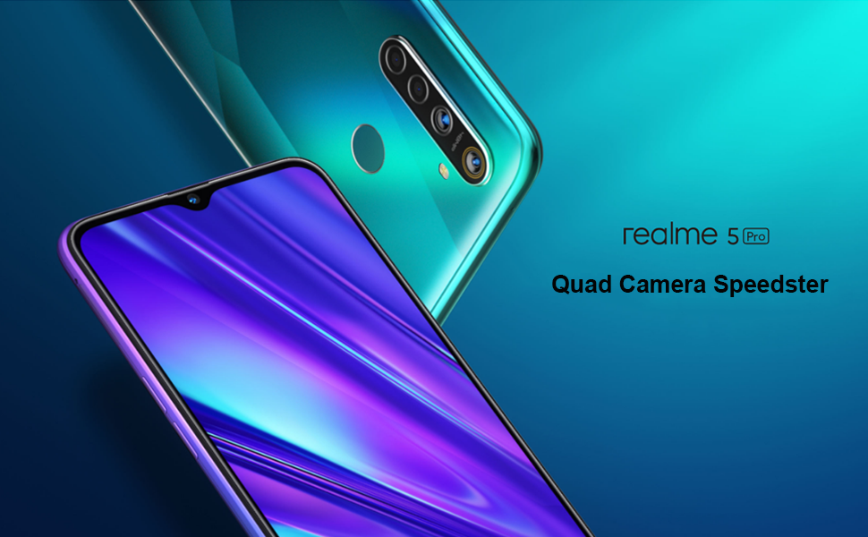 realme 5 Pro Smartphone Móvil, 4 GB RAM 128 GB ROM 6.3 Snapdragon 712AIE Octa Core 48MP AI Quad Camera 4035mAh, Dual Sim, Versión Europea (Verde): Amazon.es: Electrónica