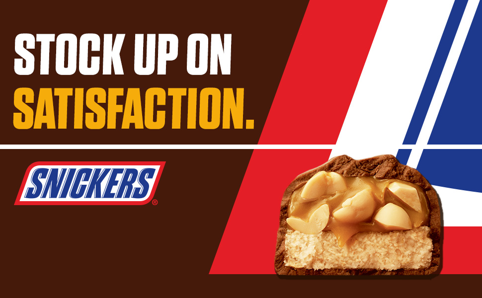 snicker stock up on satisfaction