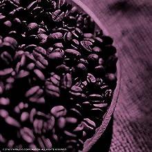 dark roast coffee in bowl