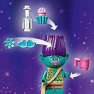 LEGO Trolls - Aventura en Globo de Poppy, Juguete de
