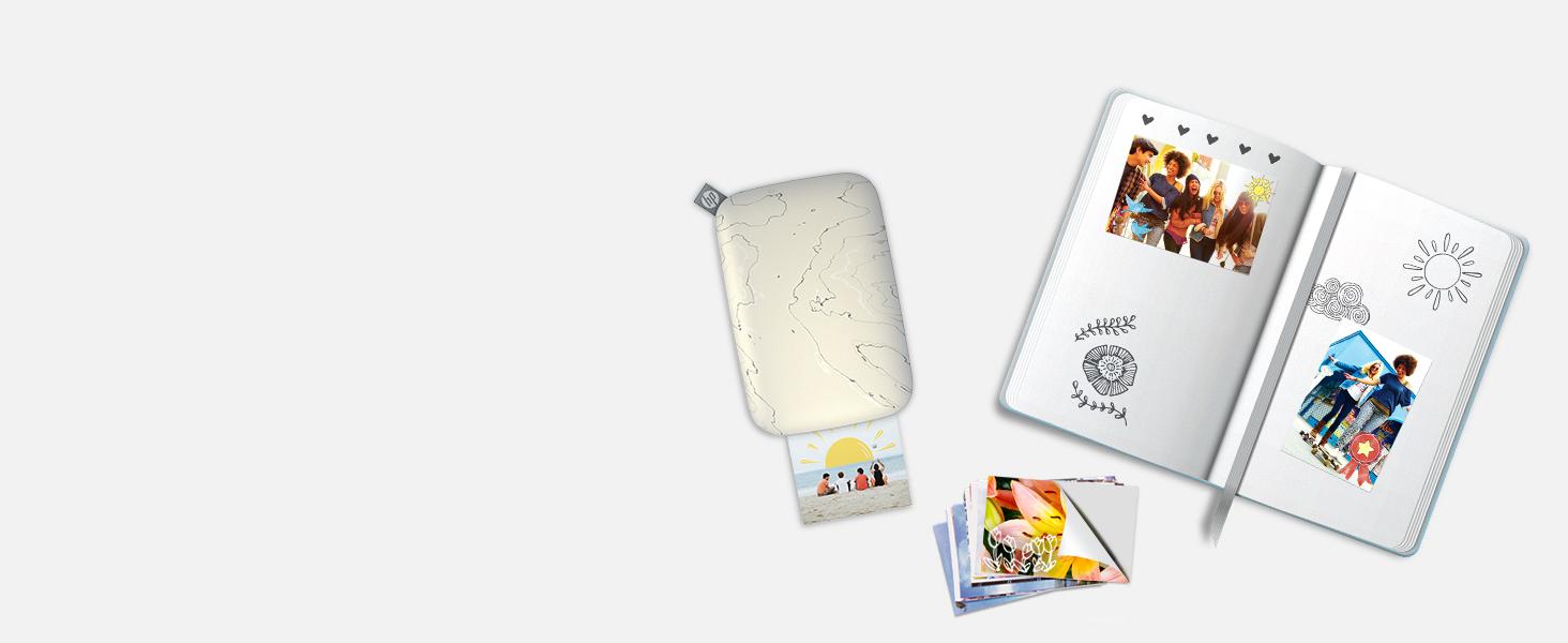 photo journal print sticky backed wallet size image