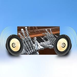 Integrated Speakers