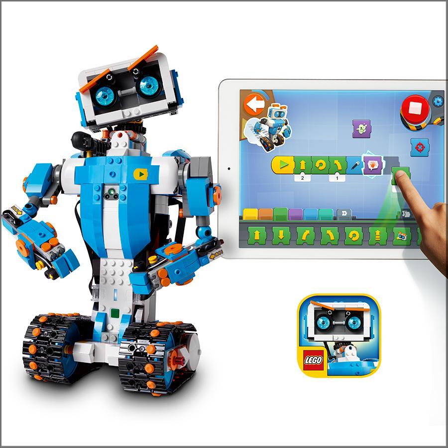 Amazon Com Lego Boost Creative Toolbox 17101 Fun Robot