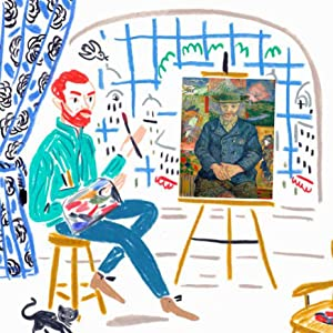 Vincent started painting new friends he had made in Paris, including art dealers and other artists