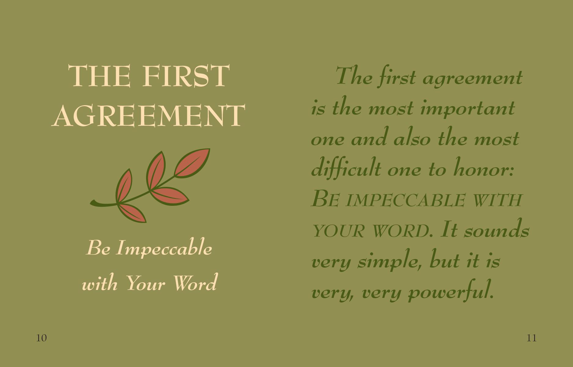 Wisdom From The Four Agreements Mini Book Don Miguel Ruiz