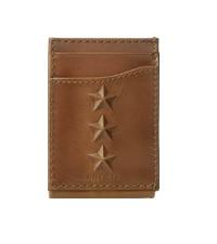 tommy hilfiger mens leather wallet front pokcet magnetic clip