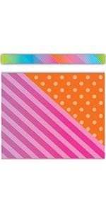 Colorful Vibes Straight Border Trim