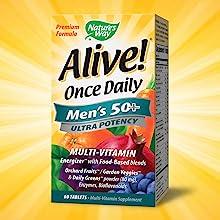 Men's 50+ Once Daily Ultra Potency Formula