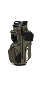 Amazon.com : OGIO SHADOW Fuse 304 Golf Stand Bag, Black ...