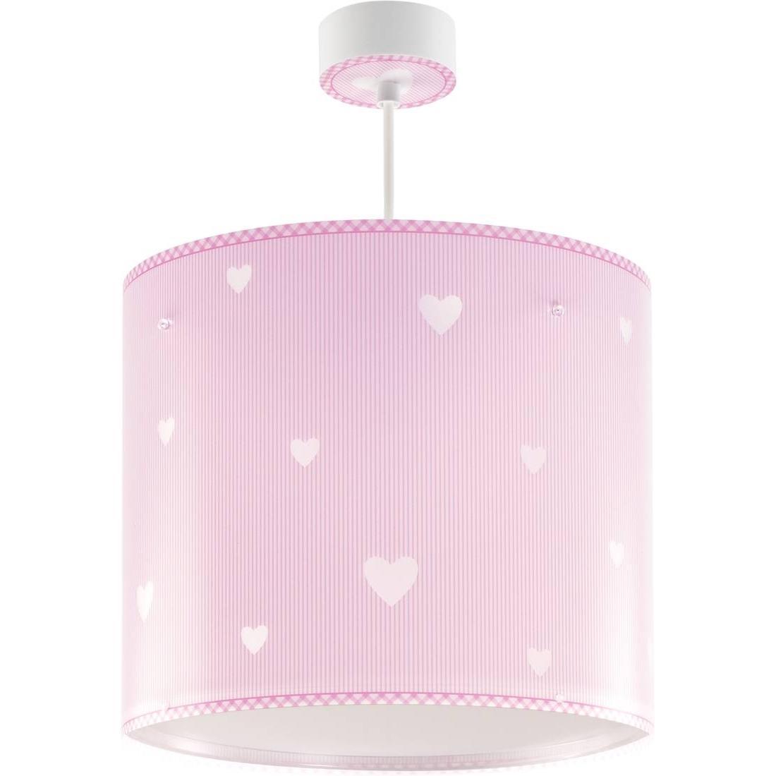 Dalber 62015S Sweet Dreams, Luz nocturna Corazones rosa, bombilla LED incluida, Clase de eficiencia energética A++