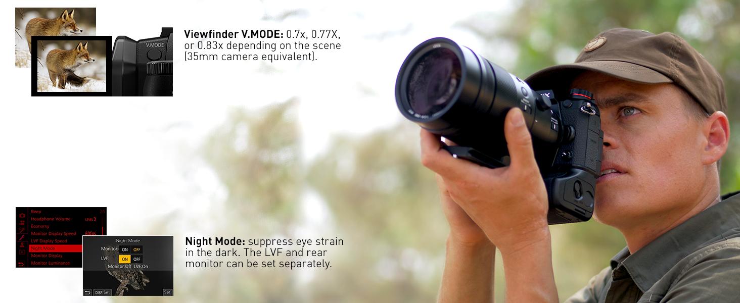 LUMIX G9 LARGE 0.8X OLED VIEWFINDER