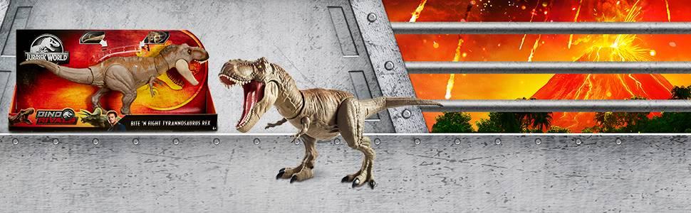 Jurassic World T-Rex Mega-Ataque, dinosaurio de juguete