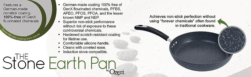 induction pan; nonstick pan; omelette pan; pfoa free pan; professional pan; saute pan, stir fry